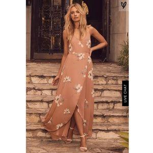 NWT Lulu's high low dress size XS